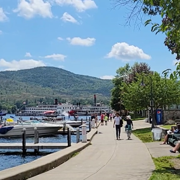 lake george 2021 tourist season