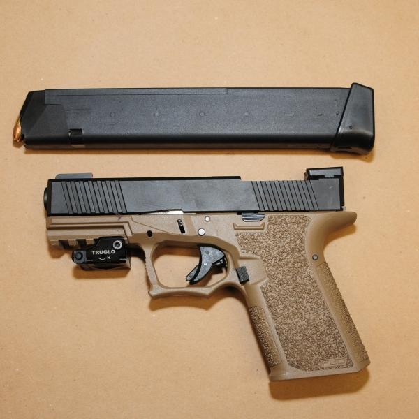 APD: Loaded 9 mm handgun