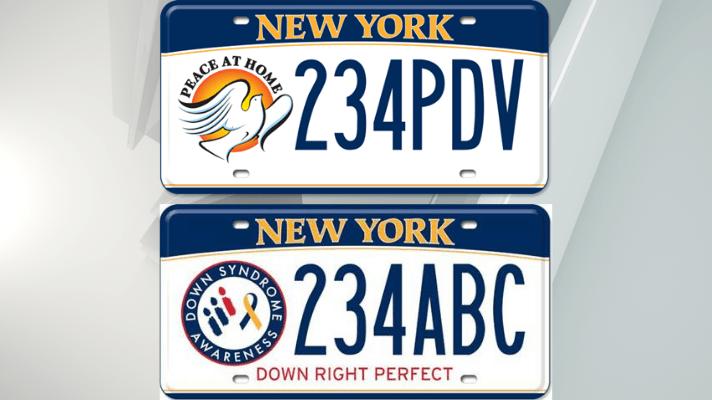 DMV custom license plates