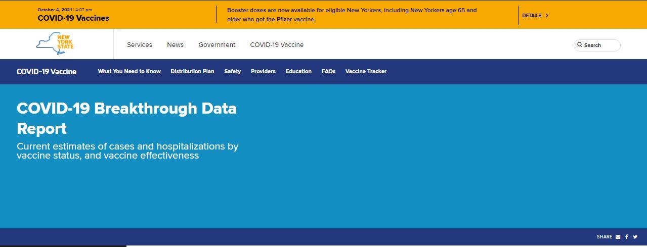 DOH website tracks breakthrough COVID cases