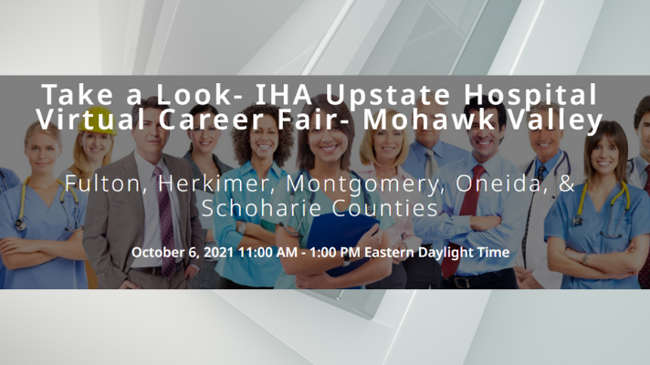 IHA Upstate Hospital Virtual Career Fair