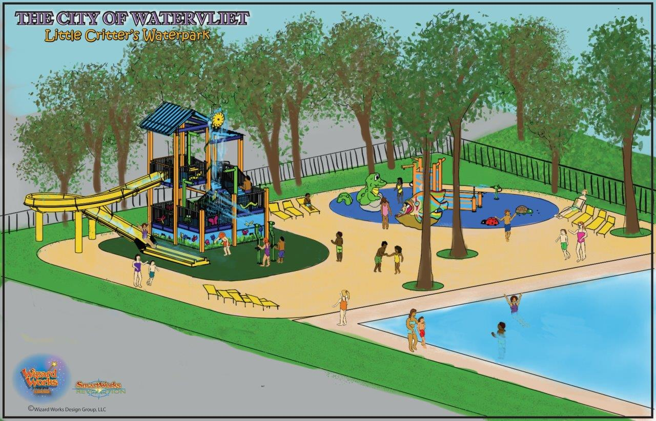 Little Critter's Waterpark at the City of Watervliet