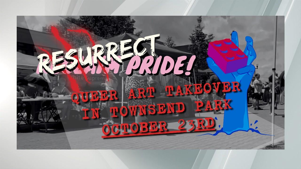 'Resurrect Pride' Halloween themed event celebrates local LGBTQIA + Artists
