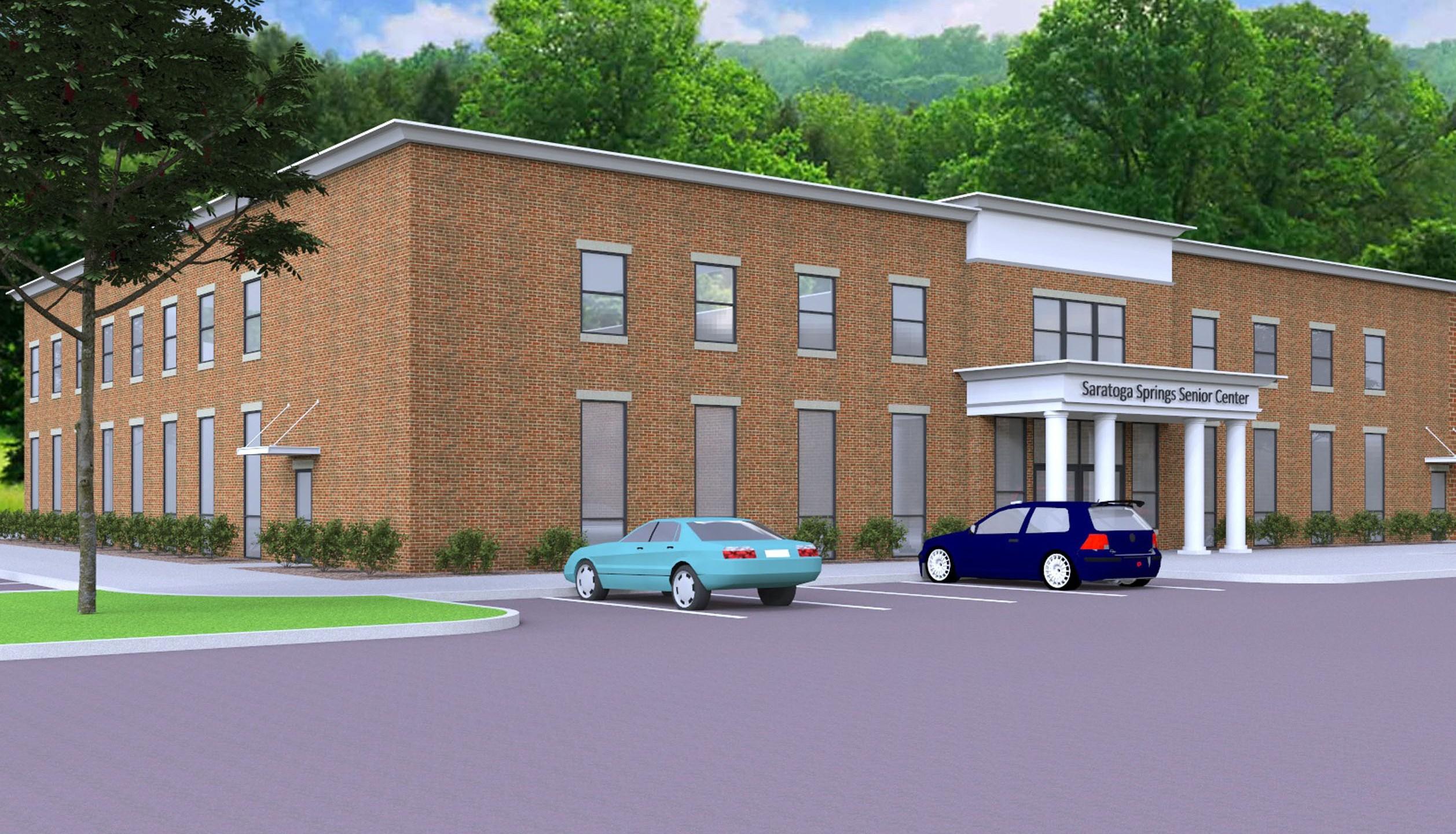 YMCA Senior Center Project Rendering